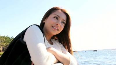 松本メイ♡巨乳ハーフ美女とデート後にホテルで濃厚フェラしてもらう